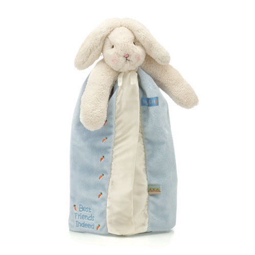 Bunnies By The Bay Bunny Buddy Blanket Blue Maggies