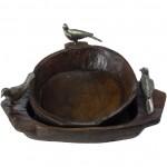 Jan Barboglio Primitive 2 Bird Bowl