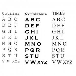 Maple Leaf Font Options 2