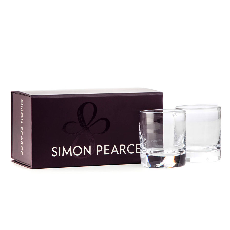 Simon Pearce Ascutney Double Old-Fashioned Gift Set