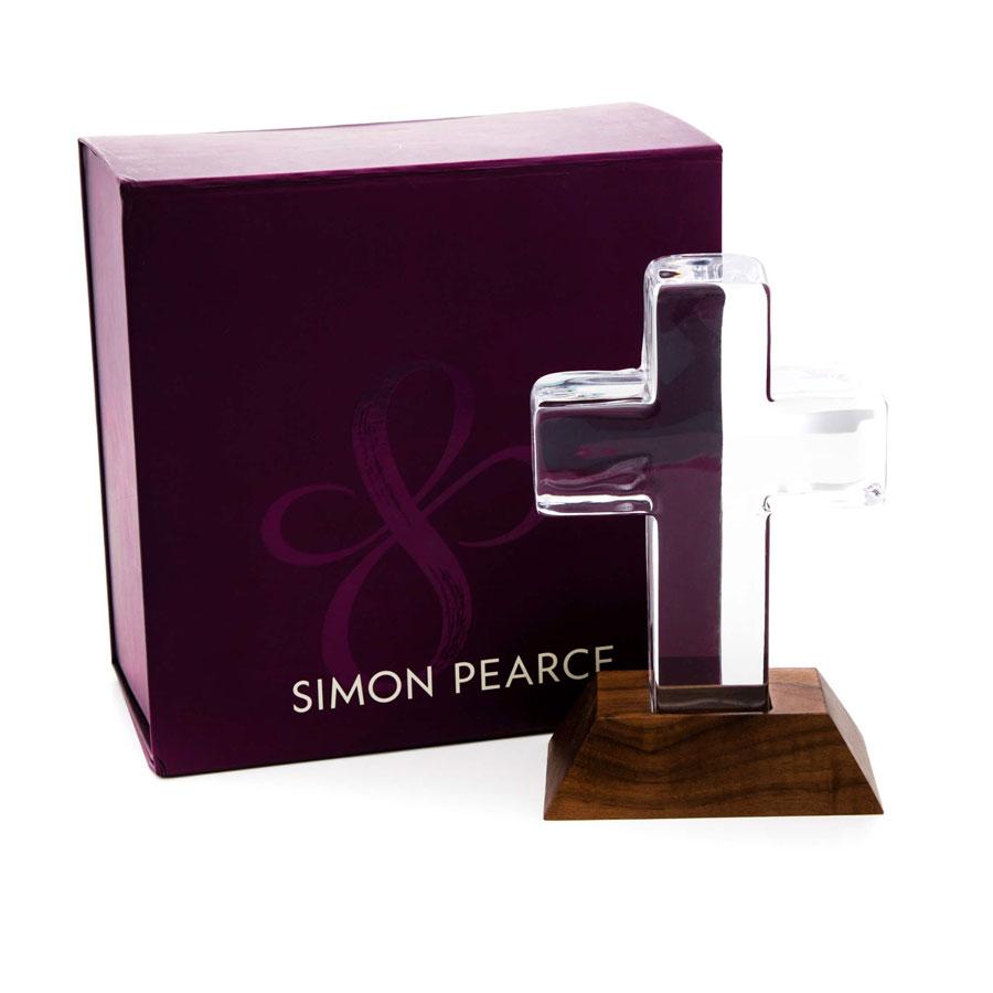 Simon Pearce Ludlow Cross in Gift Box