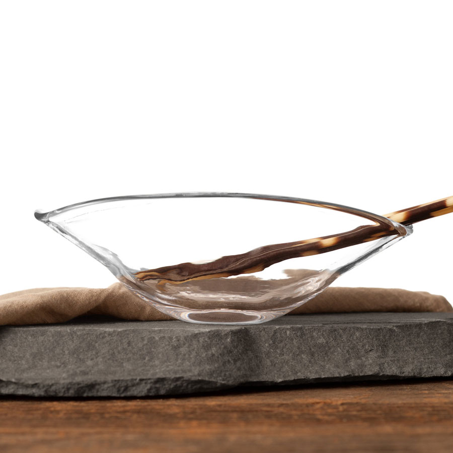 Simon Pearce Woodbury Rectangular Bowl (Medium) 2