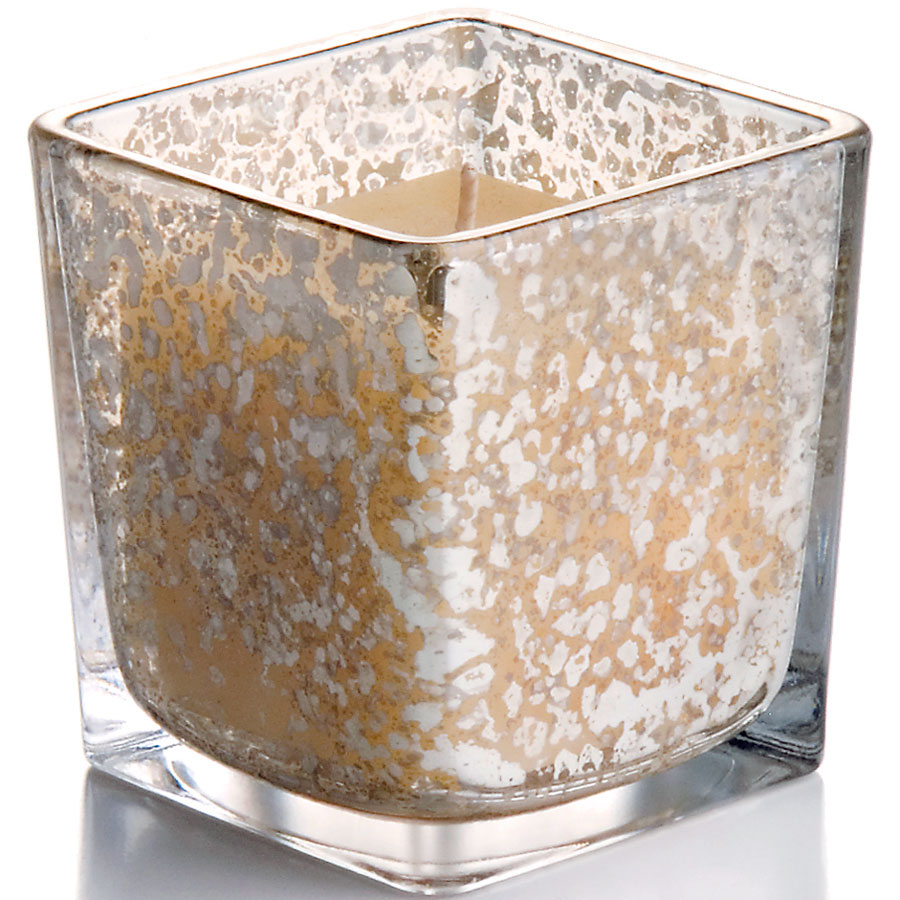 Square Mercury Votive Holder