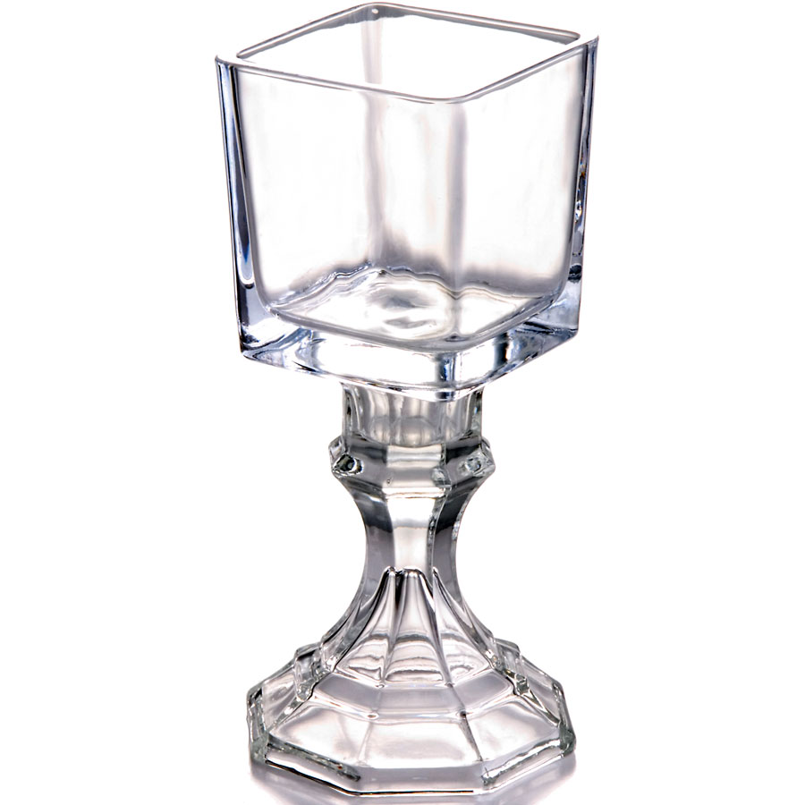 Square Pedestal Votive Holder