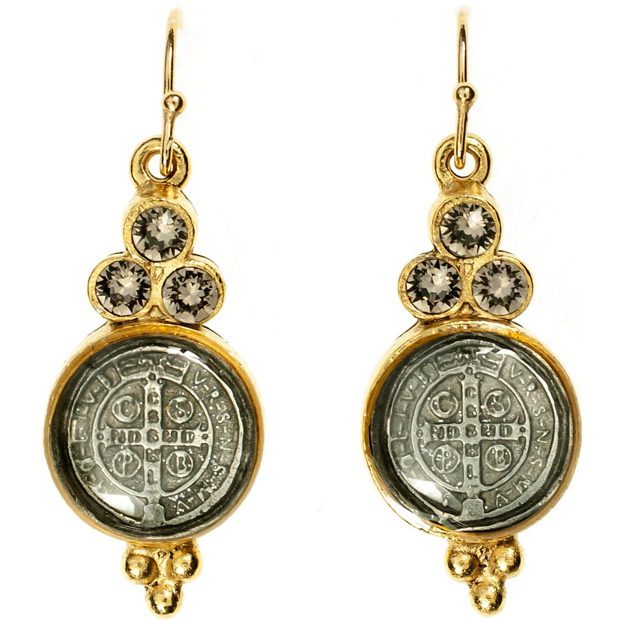 Virgins Saints And Angels San Benito Lucia Earrings