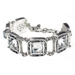 VSA Treasure Bracelet - Silver Clear