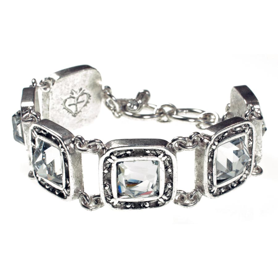 VSA Treasure Bracelet - Silver Clear