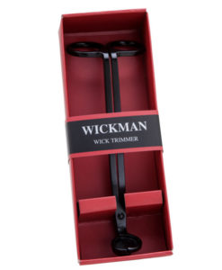 Wickman Wick Trimmer - Matte Black Finish - Gift Boxed