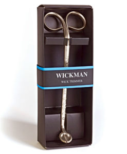 Wickman Wick Trimmer - Pewter Finish - Gift Boxed