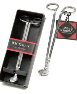 Wickman Wick Trimmer - Polished Stainless Steel Finish - Gift Boxed